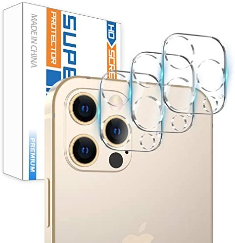 3 Pack Camera Screen Protector for iPhone 12 PRO MAX 5G 6 7 Screen Protector Tempered Glass product image