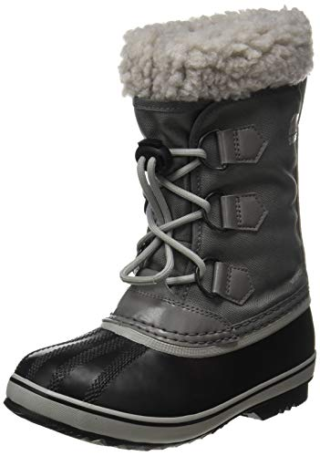 Sorel Youth Yoot Pac Nylon Boot - Rain and Snow - Waterproof - Quarry, Dove - Size 4