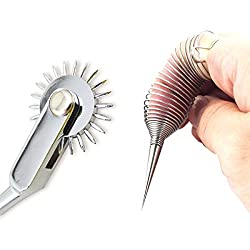 Pinwheel and finger tickler for sex games.