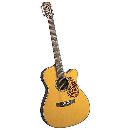Blueridge Guitars Electro 6 String Acoustic-Electric Guitar, Right Handed, 000-size Sitka (BR-163CE)