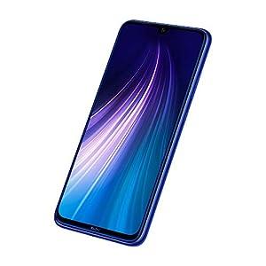 "Xiaomi Redmi Note 8 - Smartphone de 6.3"" FHD+ (Snapdragon 665 Octa Core, 3 GB RAM, 32 GB ROM, cámara trasera cuádruple de 48 MP, batería de 4000 mAh) Neptune Blue [International Version]"