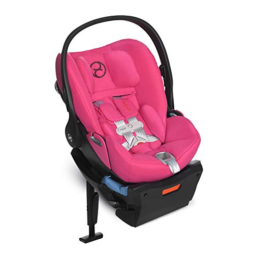 Cybex Cloud Q w/SensorSafe 2.0 Infant Baby Car Seat Child Safety Passion Pink