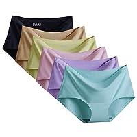 (トンボボ)Tonbobo 6色/9色セット レディース レギュラーショーツ シームレス 丈普通 無縫製 響きにくい L