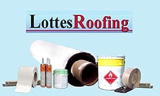 10' x 40' 45 mil White TPO RV Rubber Roof Kit, Membrane, Adhesive, Flashing, Caulking