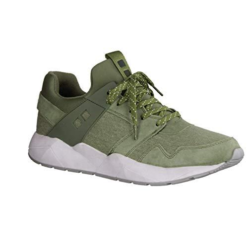 Mundart Herren Sneaker 118ZFAY770 Gras (grün) - Sneaker (grün) - Herrenschuhe Sneaker/Schnürschuh, Grün, Leder/Textil/Synthetik (Velour/mesh/neopren) grün 327347