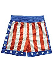 Resistance fighter costume patriotic shorts