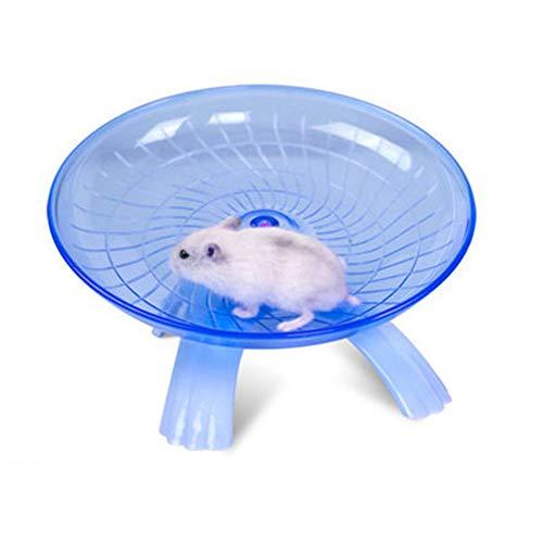 Hamster Laufrad Scheibe Spielzeug für Syrische Hamster Rennmaus Ratte Maus Chinchillas Meerschweinchen Eichhörnchen Kleintier Zufällige Farbe Neu Freigegeben