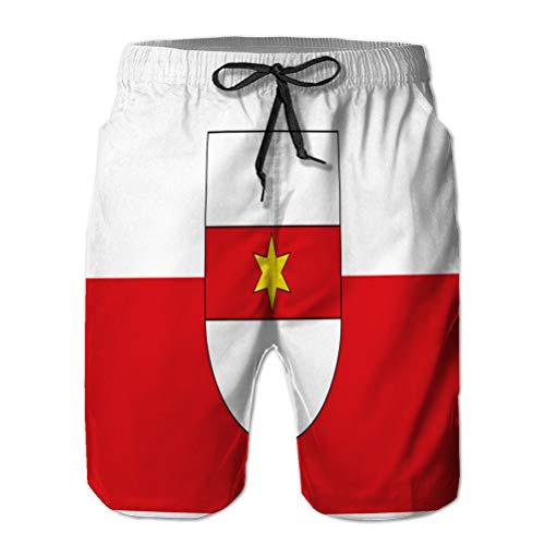 Shorts de Hombre Shorts de Playa para Nadar Surf Tabla de natación de Bolzano en el Sur de tyr M