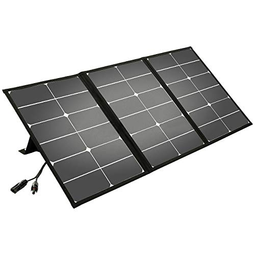 Litionite Arun 60W Panel solar portátil y plegable con soporte inclinado -...