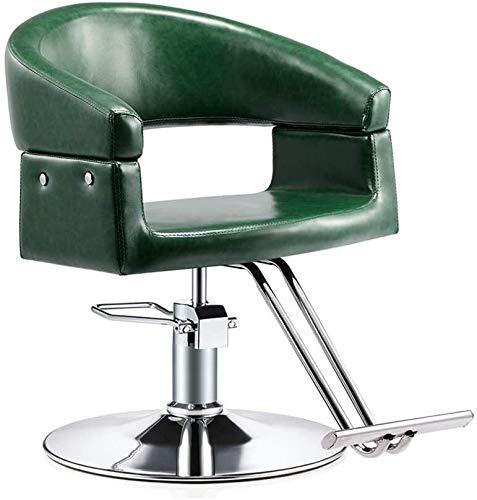 Las sillas de oficina Sillas Silla de cuero moderna giratoria de oficina Silla giratoria Silla giratoria Silla de escritorio del ordenador silla del salón de belleza peluquero profesional de la peluqu