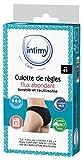 INTIMY CARE - Culotte de règles taille 42 - Flux ABONDANTS - Culotte menstruelle 95%...