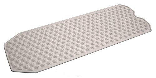 No Suction Cup Bath Mat, Made in Italy - Safe for All Ages - Bath mat for refinished tub. Will not fray Like Rubber bathmats.