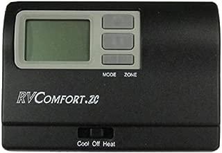 Coleman Thermostat, Digital, Heat / Cool / Heat Pump, black 8330D3311