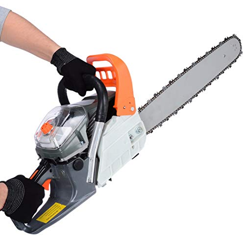 Petrol Chainsaw - 58cc 20' High-Powered Petrol Chainsaw Kit - for Farm, Garden and Ranch with Tool...