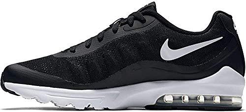 Nike Herren Air Max Invigor Laufschuhe, Schwarz (Black/White 010), 44.5