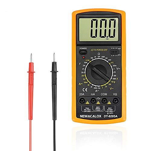 Great Deal! LCD Temperature Tester Digital Multimeter AC/DC Voltage Current Resistance Capacitance M...