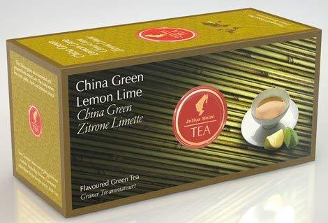 Julius Meinl China Green Lemon Lime, Grüner Tee aromatisiert - 25Beutel