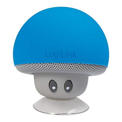 LogiLink SP0054BL - Mobile Bluetooth Lautsprecher, Design