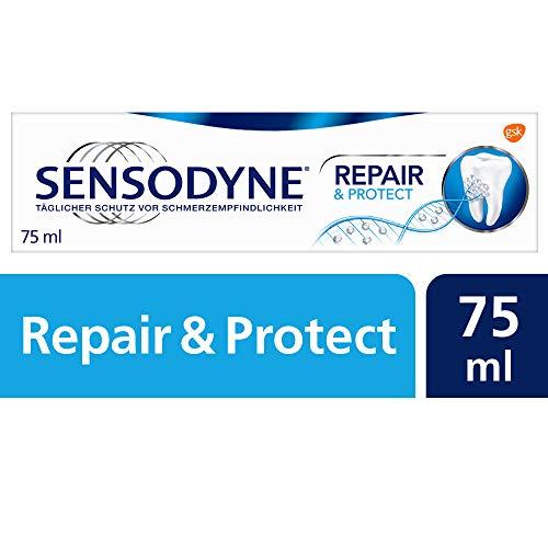 Sensodyne Repair* & Protect tandpasta, dagelijkse tandpasta met fluoride, 6 x 75 ml, bij pijngevoelige tanden