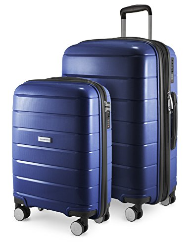 HAUPTSTADTKOFFER - PRNZLBRG - 2er Kofferset Trolley-Set Rollkoffer Reisekoffer Handgepäck...