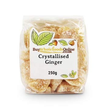 Buy 5 ☆ popular Whole Foods Ginger Max 87% OFF Crystallised 250g