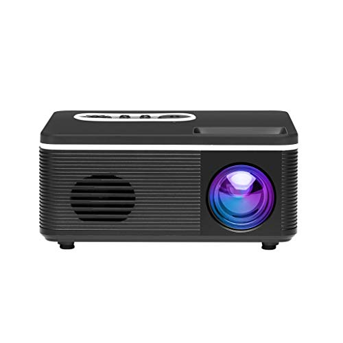 Find Cheap S361 Mini Projector Portable Full Color LED Video Projector, 1080P Supported for Children...