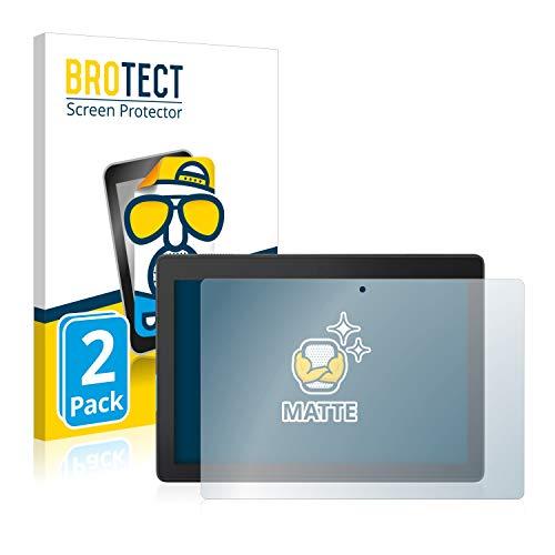 BROTECT 2X Entspiegelungs-Schutzfolie kompatibel mit Lenovo Tab E10 Bildschirmschutz-Folie Matt, Anti-Reflex, Anti-Fingerprint
