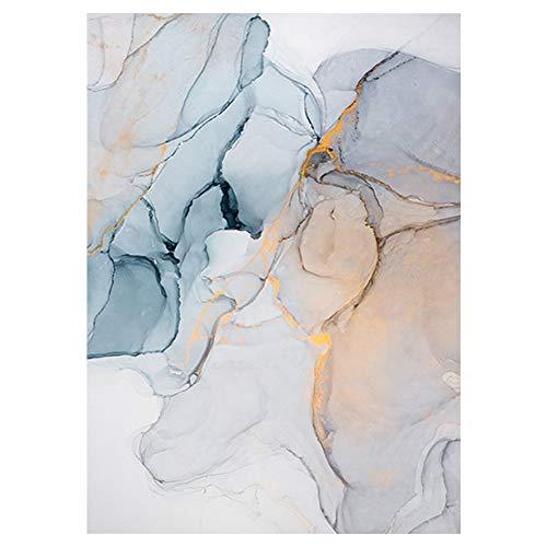 Lienzo de estilo nórdico, abstracto, para colgar en la pared, sin marco, decoración para salón, dormitorio, oficina, hotel o decoración de fondo, No nulo, 8, 40x60cm