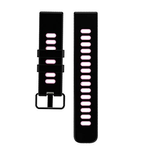 YAMAY Cinturino di ricambio per SW018 Smartwatch, rosa