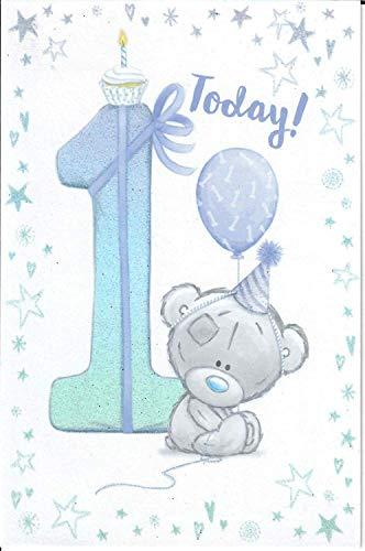 Me To You Geburtstagskarte für Jungen zum 1. Geburtstag