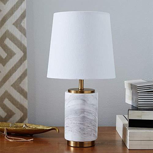 Nach der amerikanischen Minimal Art der kreative Designer Marmortisch moderne Wohnzimmer Arbeitszimmer Schlafzimmer Nachttischlampe Lampe Modell,Weiß