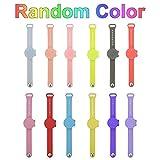 Distributore di silicone 15 ml dispenser di orologio bracciale da polso per bambini adulti bracciale dispenser di orologi da polso contenitore di compressione (colore casuale)