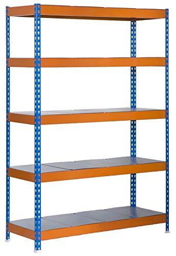 Estantería metálica de media carga Bricoforte 5 estantes A