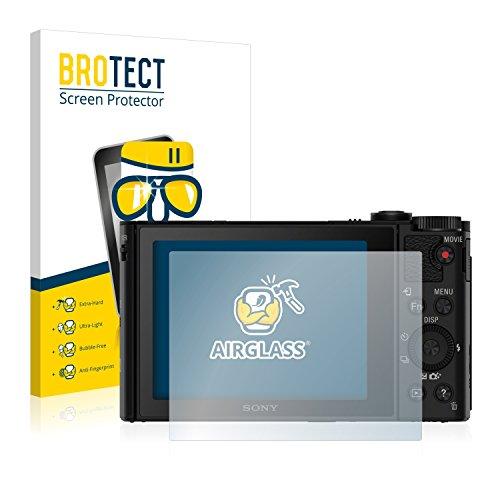 brotect Pellicola Protettiva Vetro Compatibile con Sony Cyber-Shot DSC-HX90V Schermo Protezione, Estrema Durezza 9H, Anti-Impronte, AirGlass