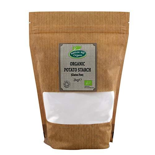 Almidón de patata orgánico 2kg - Sin gluten - de Hatton Hill Organic