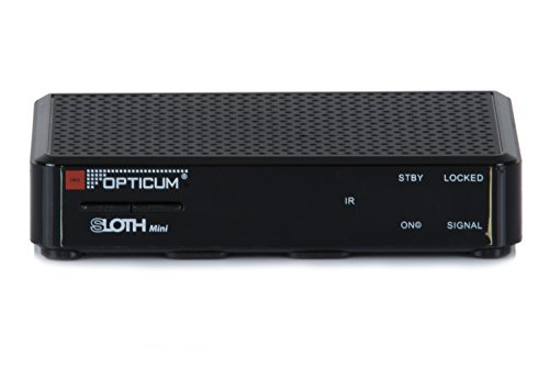 Opticum SLOTH Mini HD DVB-S/S2 Digital IP Receiver (HDTV, DVB-S2, HDMI, SCART, IPTV, LAN, USB)