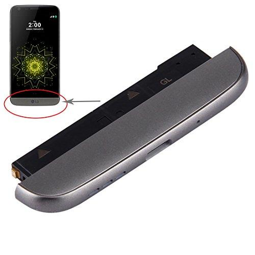 Cellphoneparts BZN Módulo Inferior (Base de Carga + Micrófono + Timbre del Timbre del Altavoz) for LG G5 / H840 / H850 (Gris) (Dorado) (Plateado) (Color : Silver)