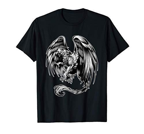 Griffin Mythological Creature Bird Lion Gryphon Legend T-Shirt