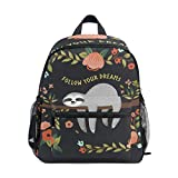 OREZI Cute Sloth Toddler Bag for Boy Girl with Chest...