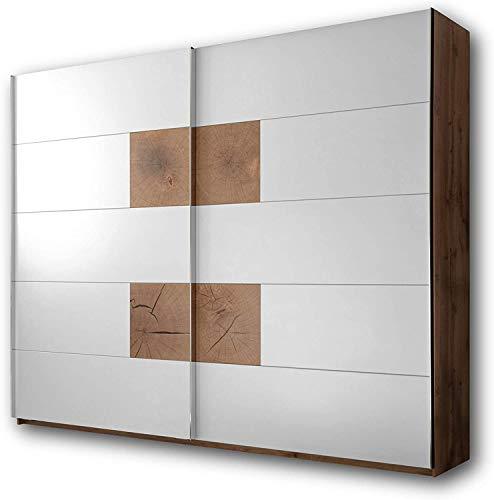 Hochwertige Schränke, Spinde Wildeiche Schlafzimmer Look perfekt für das Schlafzimmer,White