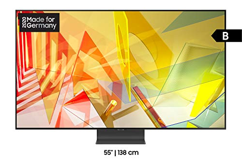 Samsung QLED 4K Q95T 55 Zoll (GQ55Q95TGTXZG) Quantum Prozessor 4K, Direct Full Array, Quantum HDR 2000 [Energieklasse B]
