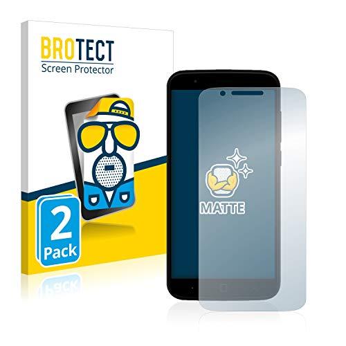 BROTECT 2X Entspiegelungs-Schutzfolie kompatibel mit Vernee Thor Bildschirmschutz-Folie Matt, Anti-Reflex, Anti-Fingerprint
