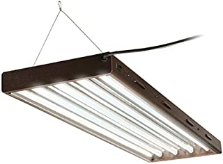 Hydrofarm Agrobrite Designer T5, FLP44, 216W 4 Foot, 4-Tube Fixture with Lamps