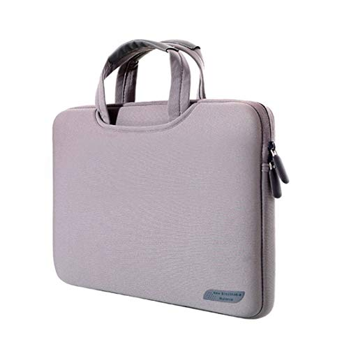 PC accessories LGMIN 15.4 inch Portable Air Permeable Handheld Sleeve Bag for MacBook Air/Pro, Lenovo and other Laptops, Size: 38x27.5x3.5cm (Black) (Color : Grey)