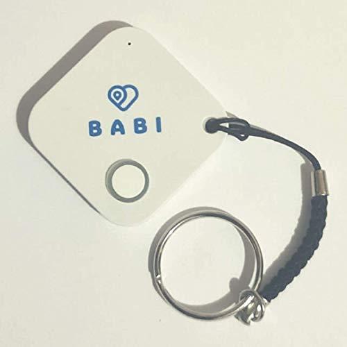 Babi Alert il portachiavi intelligente per dispositivo anti abbandono seggiolino auto Babi by CappyToppy Monitoraggio fino a 4 cuscini contemporanemente