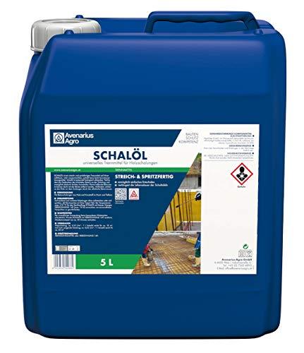 Avenarius Agro Schalöl Trennmittel für Beton Schalungen 5 Liter