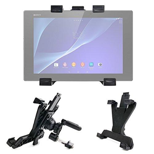 DURAGADGET Soporte para La Rejilla De Ventilación del Coche para Tablet Sony Xperia Z2 / Wolder miTab Cleveland/Woxter DX 70 / Yuntab SZ Wave