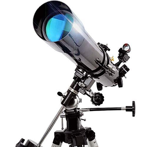 GGPUS Distancia Focal 900 mm, telescopio, Alcance de Viaje, telescopio Refractor astronómico para niños Principiantes - telescopio portátil de Viaje