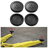 Bentolin Round Rubber Arm Pads for BendPak Lift/Dannmar Lift, Set of 4