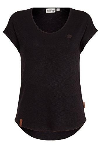 Naketano Damen T-Shirt Falscher Smiley III T-Shirt